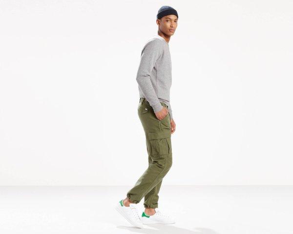 Levis True Cargo Pants - Olive2