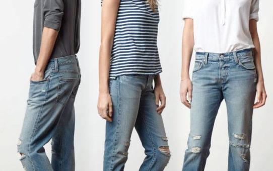Размеры женских джинсов Levis, часть 1: Бойфренды