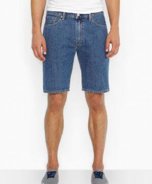 Джинсовые шорты Levis 505 - Medium Stonewash