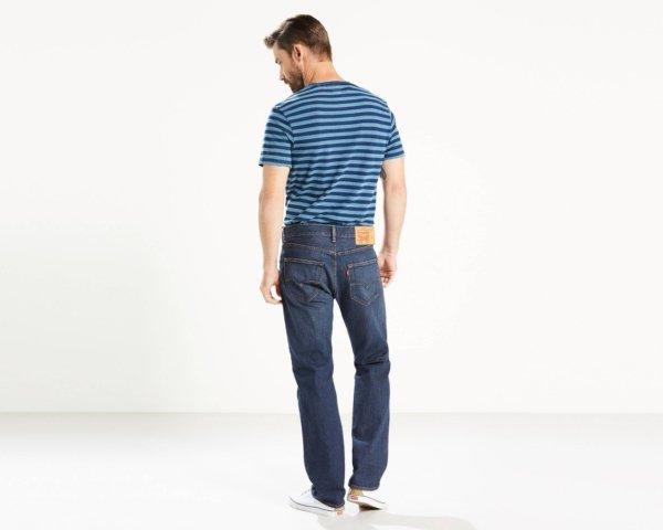 LEVIS 501 Original Fit Stretch Jeans - Ellison3