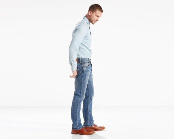 LEVIS 501 Original Fit Stretch Jeans - The Ben2