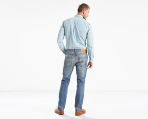 LEVIS 501 Original Fit Stretch Jeans - The Ben3