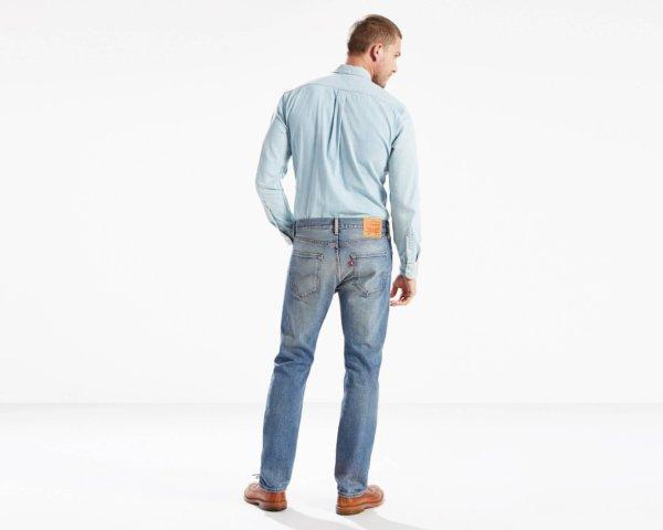 LEVIS 501 Original Fit Stretch Jeans - The Ben3
