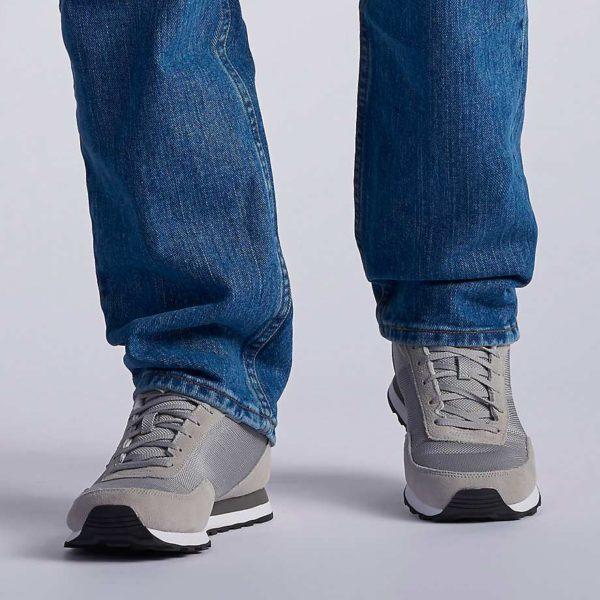 Lee Men's Regular Fit Straight Leg Jean - Pepper Stonewash3