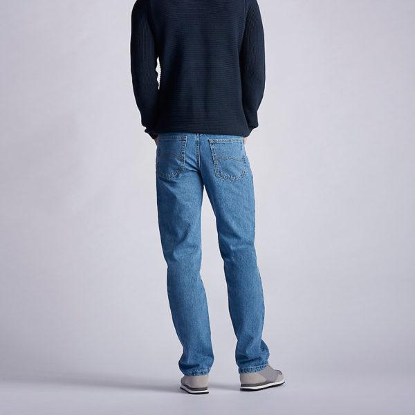 Lee Men's Regular Fit Straight Leg Jean - Vintage Stonewash2