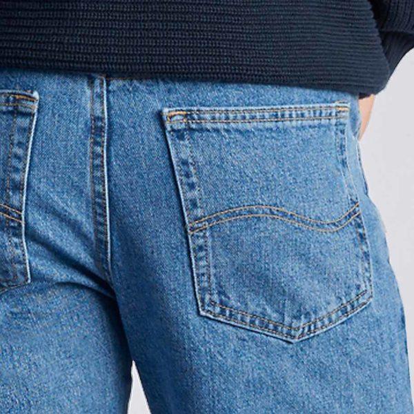 Lee Men's Regular Fit Straight Leg Jean - Vintage Stonewash4
