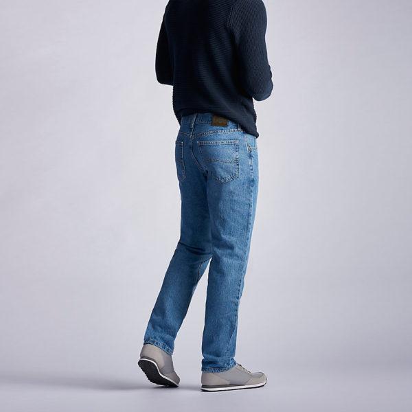 Lee Men's Regular Fit Straight Leg Jean - Vintage Stonewash5
