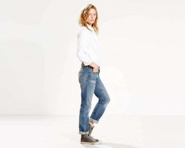 Levis 501 Jeans for Women - True Blue2