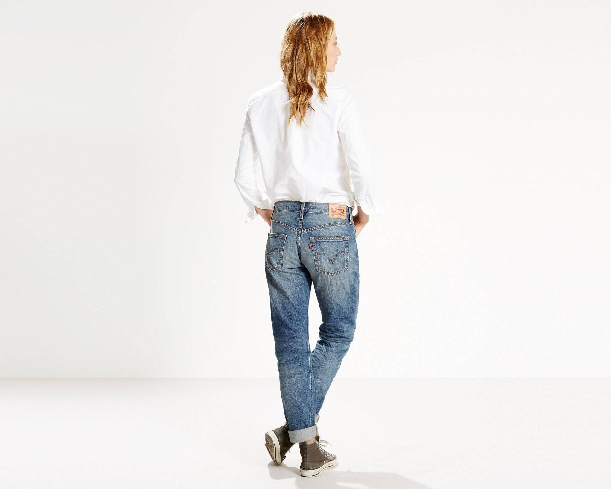 e8339774132 Женские джинсы Levis 501 – True Blue – Интернет магазин одежды Non ...