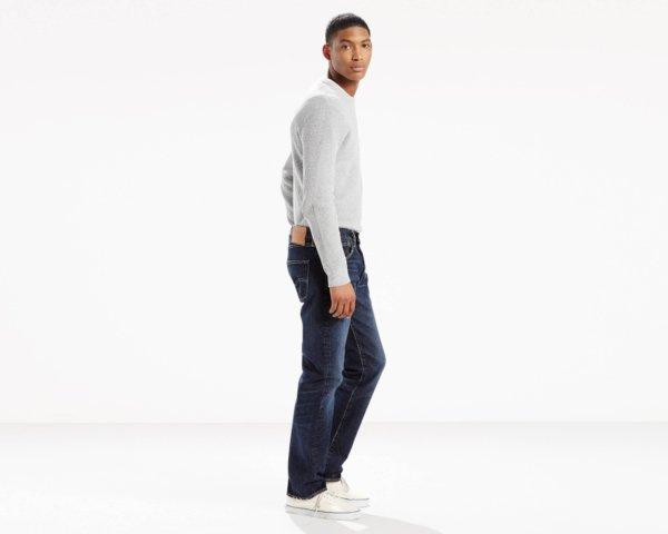 Levis 501 Original Fit Heavyweight Jeans - Heavy Oberek2