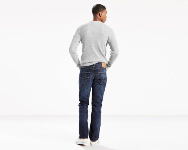 Levis 501 Original Fit Heavyweight Jeans - Heavy Oberek3