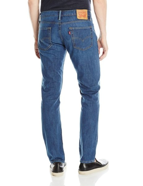 Levis 511 Slim Fit Performance Stretch Jeans - Blue Jays2