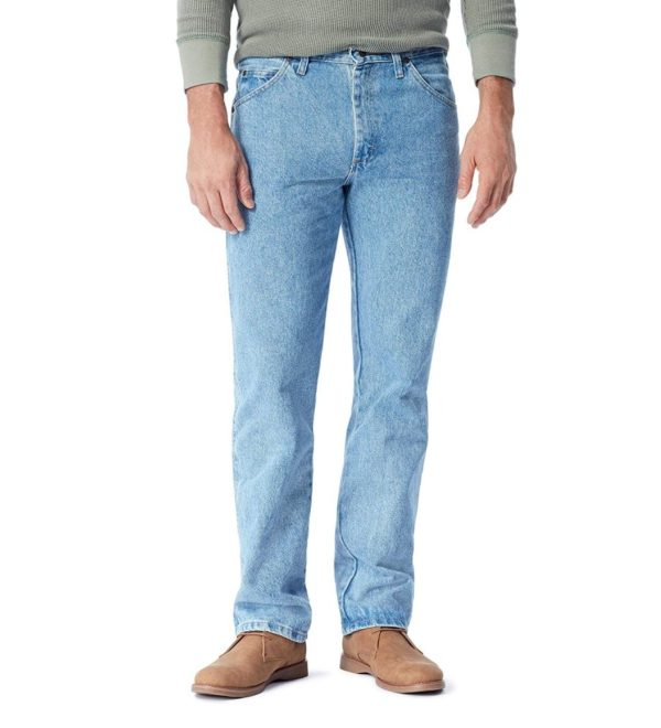 Джинсы мужские Wrangler Authentics - Light Stonewash