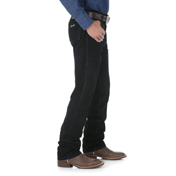 Wrangler Cowboy Cut Silver Edition Original Fit Jean - Black2