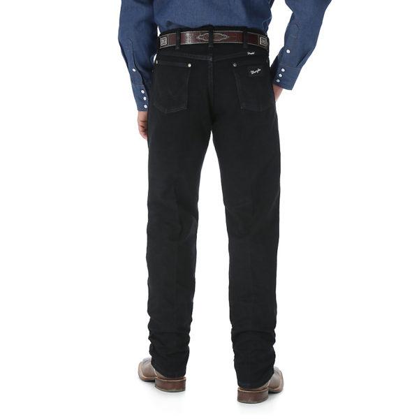 Wrangler Cowboy Cut Silver Edition Original Fit Jean - Black3