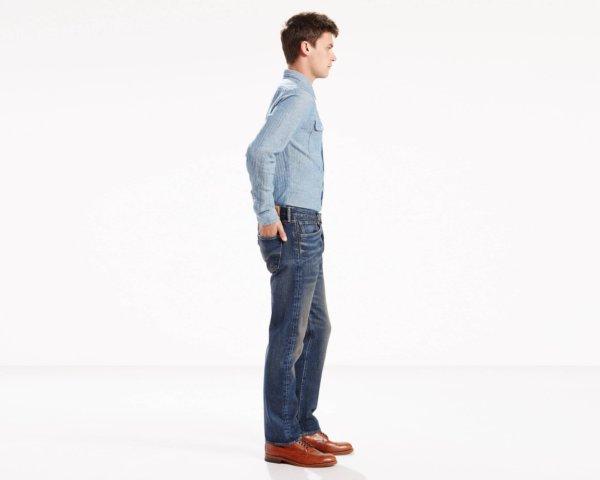 LEVIS 501 Original Fit Stretch Jeans - Sey2