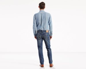LEVIS 501 Original Fit Stretch Jeans - Sey3
