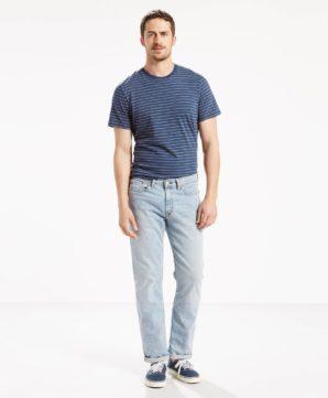 Прямые джинсы Levis 514 - Blue Stone
