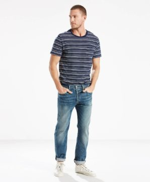 Джинсы Levis 501 Original Fit - Green Point