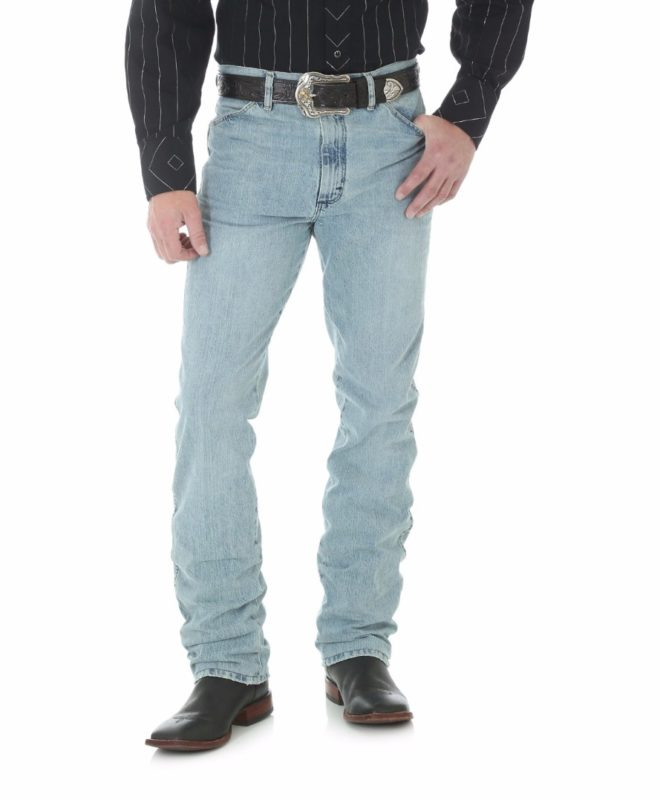 Джинсы Wrangler 933SE Silver Edition Slim Fit - Bleach Wash