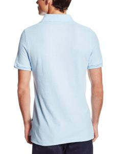 Lee Uniforms Modern Fit Short Sleeve Polo Shirt - Light Blue2