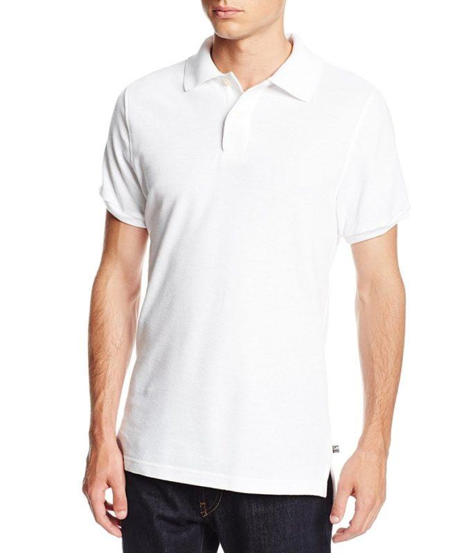 Мужская футболка-поло Lee - Белая