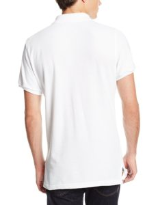 Lee Uniforms Modern Fit Short Sleeve Polo Shirt - White2