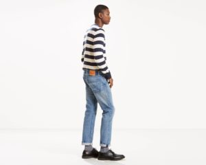 Levis 501 Original Fit Warp Stretch Jeans - Cry Baby2