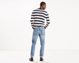 Levis 501 Original Fit Warp Stretch Jeans - Cry Baby3