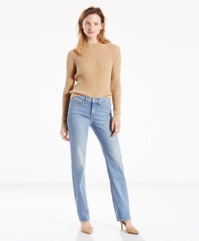 Моделирующие джинсы Levis 314 - Willow Glen