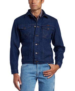 Классческая джинсовая куртка Wrangler - Denim