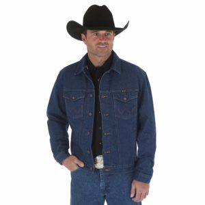 Wrangler Cowboy Cut Unlined Denim Jacket3