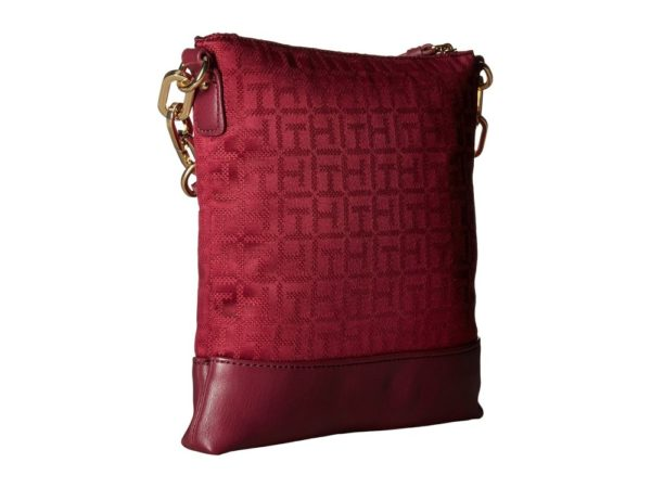 Tommy Hilfiger Almira North-South Crossbody - Merlot2