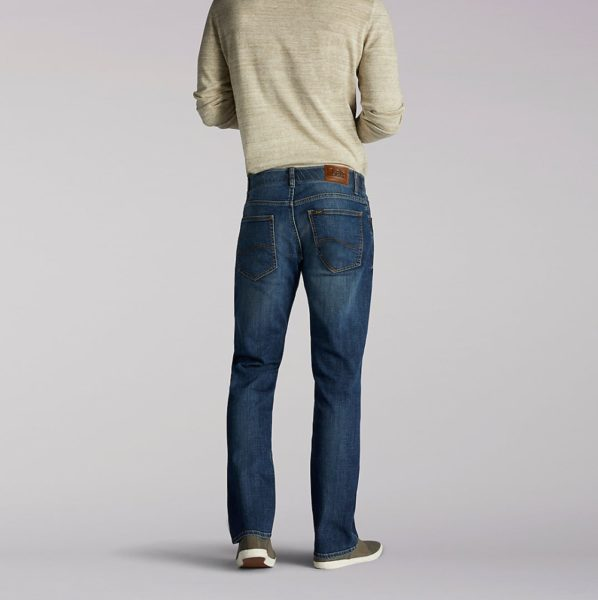 Lee Extreme Motion Straight Leg Tapered Jeans - Maddox2