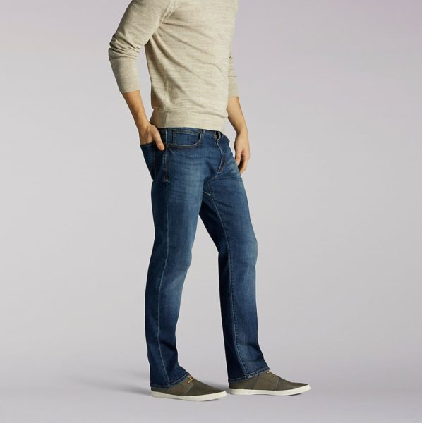 Lee Extreme Motion Straight Leg Tapered Jeans - Maddox3