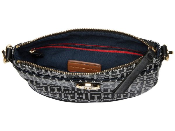 Tommy Hilfiger Almira North-South Crossbody - Black5