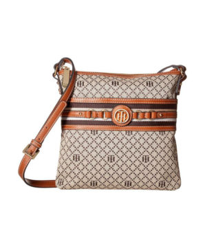 Женская сумочка Tommy Hilfiger Evaline 23х24 см - бежевая