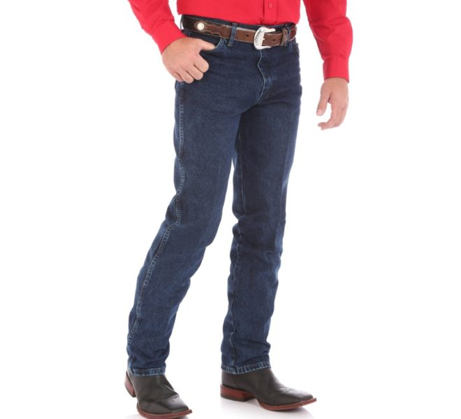 Джинсы Wrangler Cowboy Cut - Dark Stone Denim