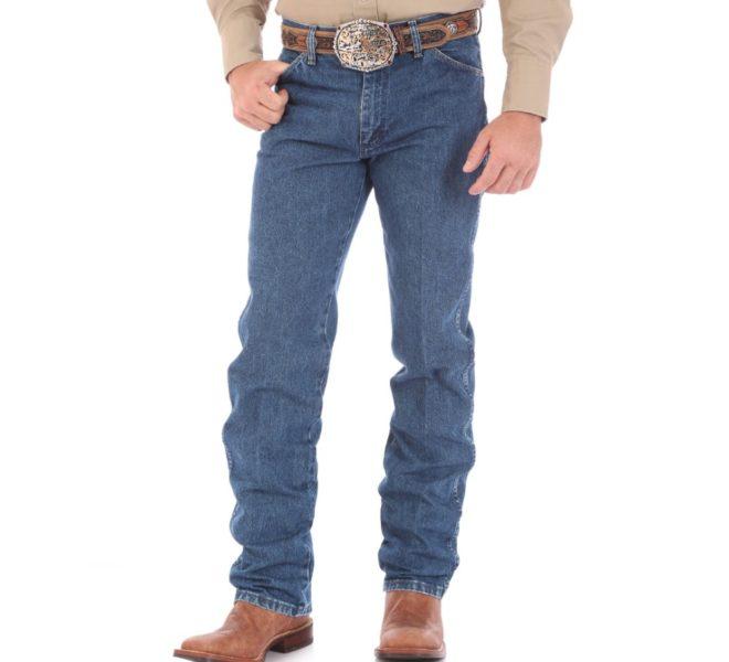 Джинсы Wrangler Cowboy Cut - Stonewashed