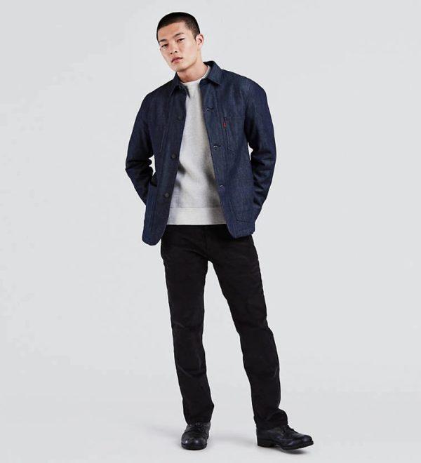 Вельветовые брюки Levis 505 Regular Fit - Черные