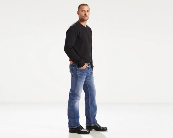 Levis 505 Regular Fit Warp Stretch Jeans - Ingenious2