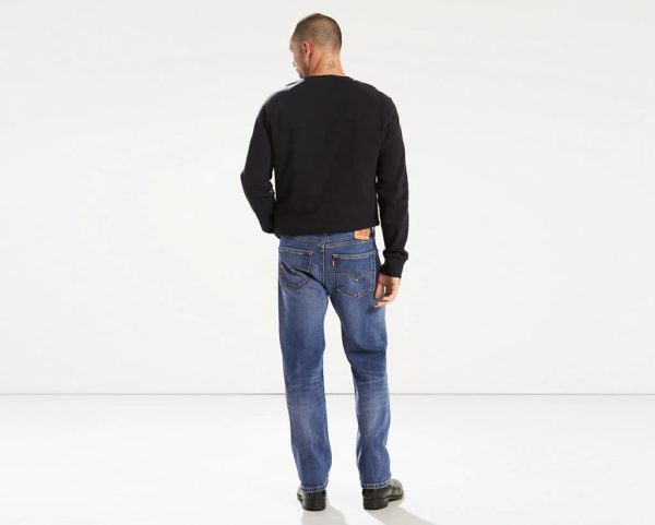 Levis 505 Regular Fit Warp Stretch Jeans - Ingenious3