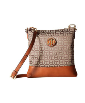 Женская сумочка Tommy Hilfiger Almira North 22х22 см - бежевая