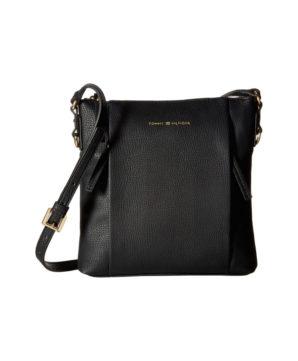 Женская сумочка Tommy Hilfiger Kelby 22х22 см - Черная