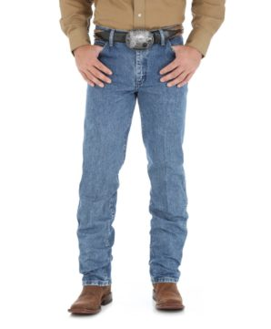 Джинсы Wrangler Cowboy Cut Regular Fit - Dark Stone