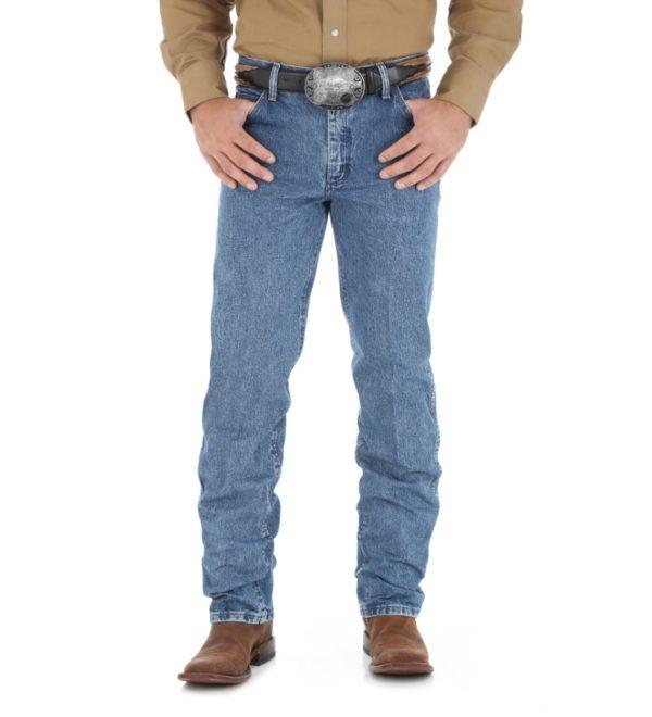 Джинсы Wrangler Cowboy Cut Regular Fit - Dark Stone