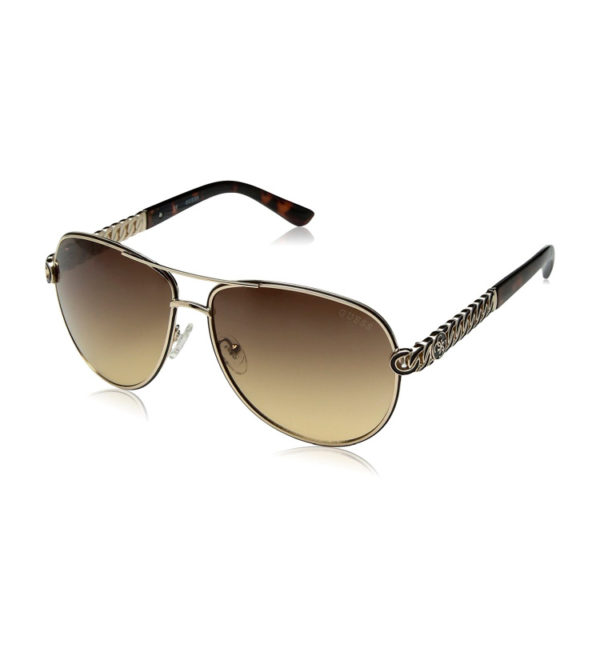 Женские очки от солнца Guess - коричневые