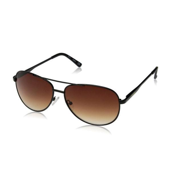 Очки от солнца Timberland Aviator - черные/коричневые