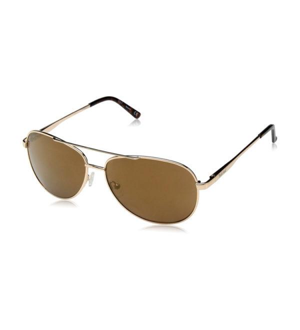 Очки от солнца Timberland Aviator - золотые/коричневые