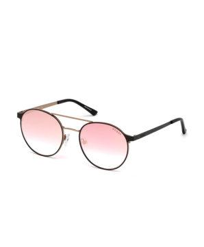 Женские очки от солнца Guess - Розовые/зеркальные